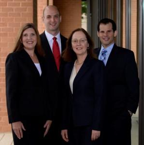 Attorneys Nicole Livingston, Jon J. Gasior, Colleen Sinclair Prosser and Victor Lembo