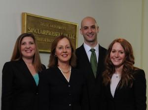 Attorneys Nicole Livingston, Colleen Sinclair Prosser, Jon J. Gasior, Brooke J. Shemer