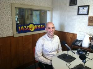 "Jon J. Gasior, Attorney recording ""Your Estate Matters"" at WNAV Radio"